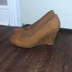Camel Suede Dress Shoes